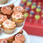 Cupcakes mit Logo