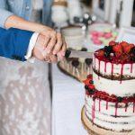 seminaked Drip Cake